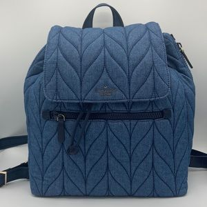 NWT Kate Spade Blue Jean Backpack
